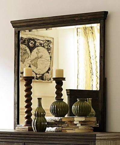 Hardwin Rustic Brown Mirror