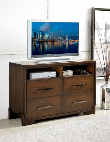 Minato Brown Cherry Tv Chest
