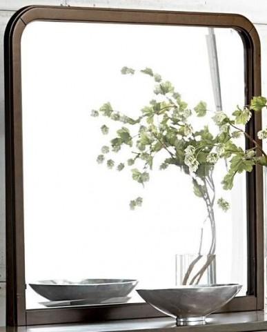 Minato Brown Cherry Mirror