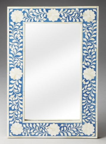 Olivia Bone Inlay Heritage Wall Mirror
