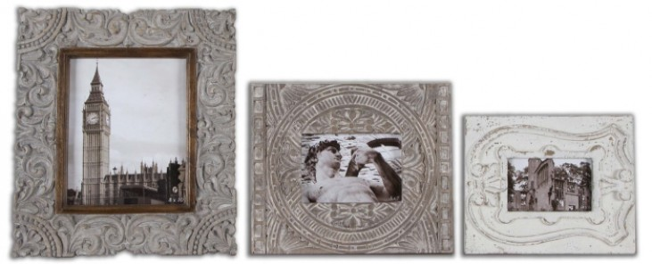 Askan Wood Photo Frames Set of 3