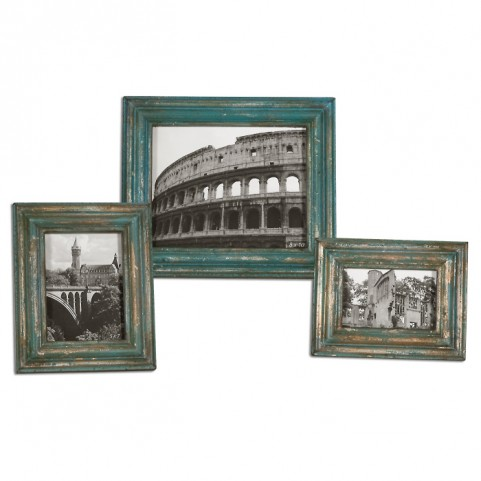 Marlais Bronze Photo Frames Set of 3