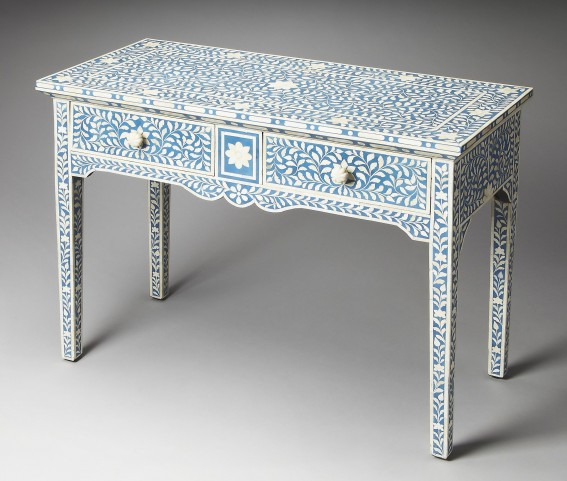 Olivia Bone Inlay Heritage Console Table