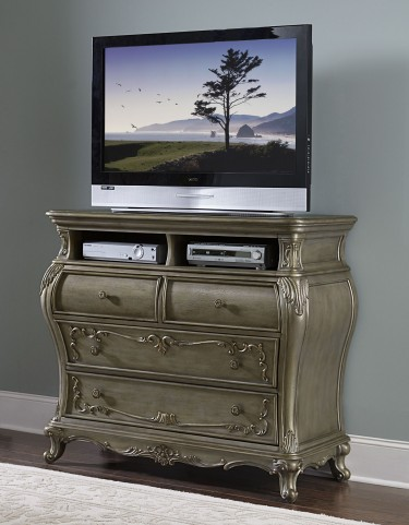 Florentina Gold Tv Chest