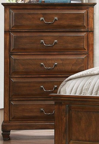 Bardwell Brown Cherry Chest