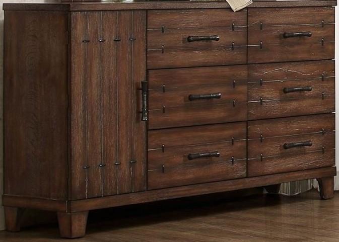 Brazoria Natural Wood Dresser