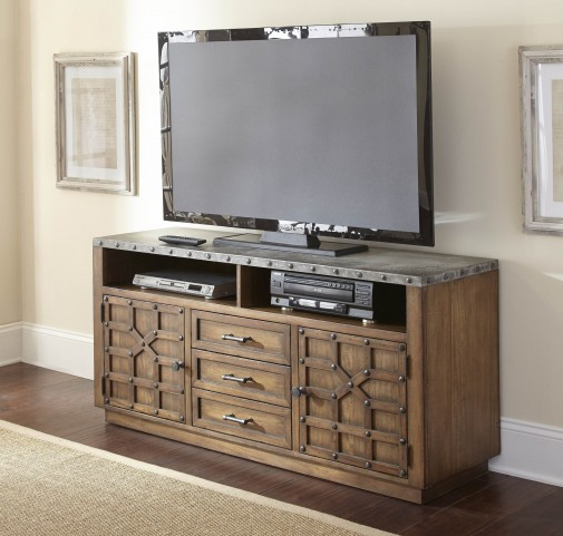 Wayland Brushed Tobacco TV Stand