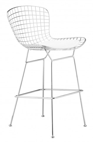 Wire Bar Chair Chrome (frame) Set of 2