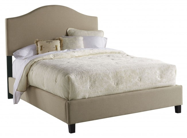 Saddle Back Queen Upholstered Bed