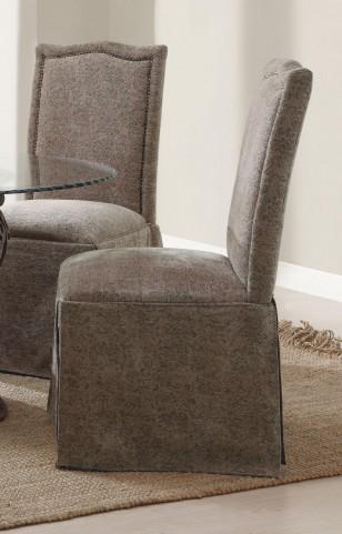 Slauson Beige Parson Chair Set of 2