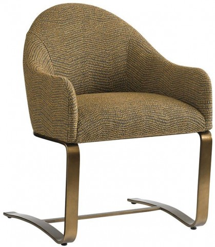 Cross Effect Gold Texture Fabric Icon Desk Chair