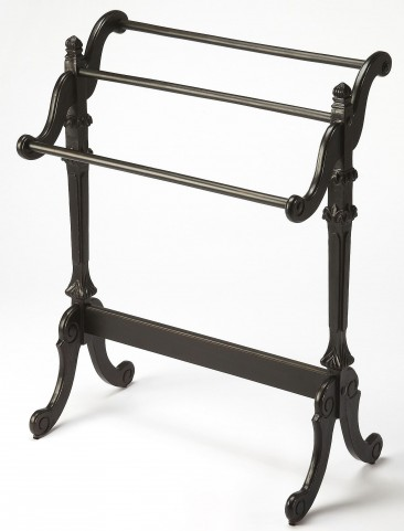 Newhouse Black Licorice Blanket Stand
