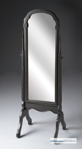 Brushed Sable Cheval Mirror