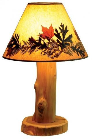 Cedar Large Shade Table Lamp