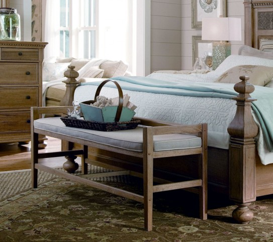 Down Home Oatmeal Bed Bench