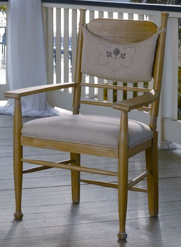 Down Home Oatmeal Arm Chair Set of 2