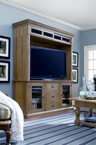 Down Home Oatmeal Entertainment Center