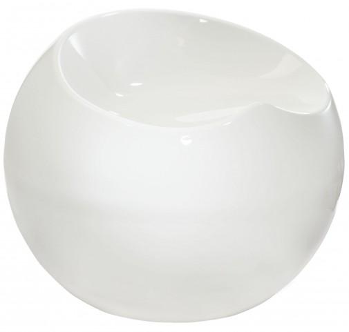 Ergo Sphere White Barstool
