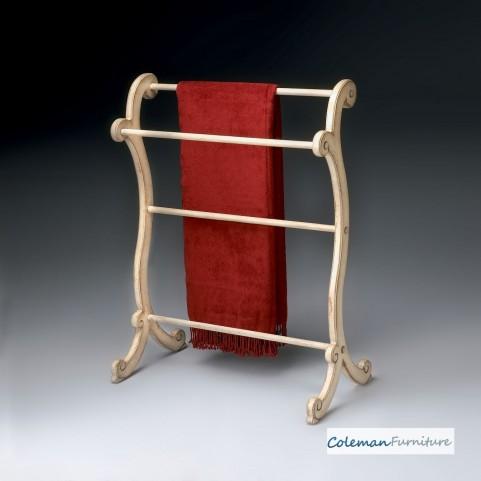Parchment Blanket Rack