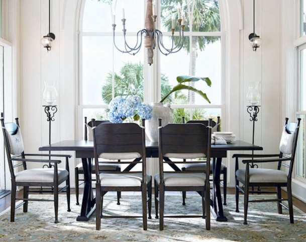 Down Home Molasses Rectagular Extension Dining Room Set