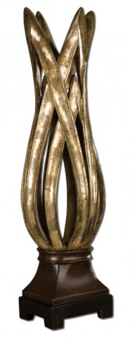 Zara Silver Leaf Decorative Vase