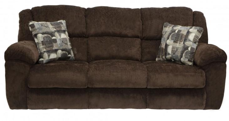 Transformer Chocolate Reclining Sofa