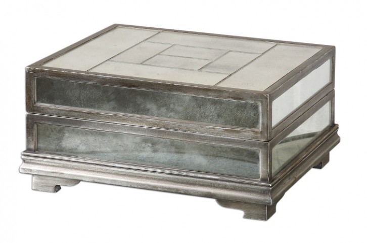 Trory Mirrored Decorative Box