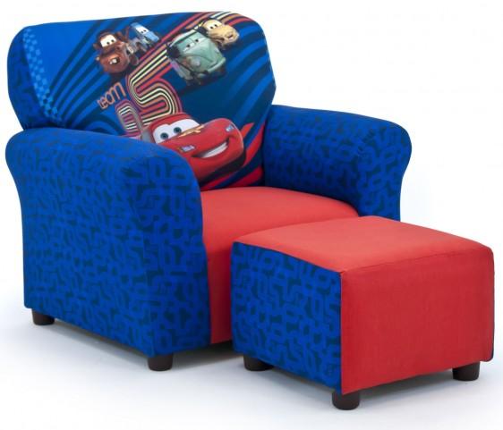 Disney's Cars 2 Club Chair and Ottoman