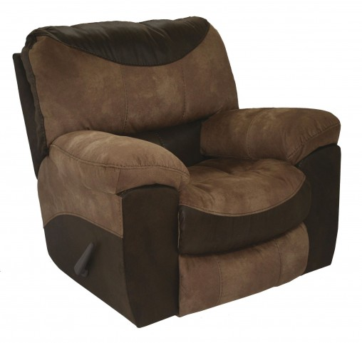 Portman Saddle/Chocolate Recliner