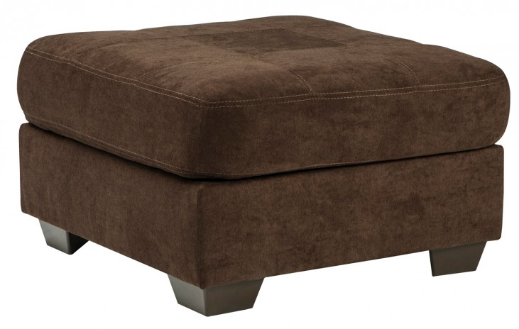 Delta City Chocolate Oversized Accent Ottoman