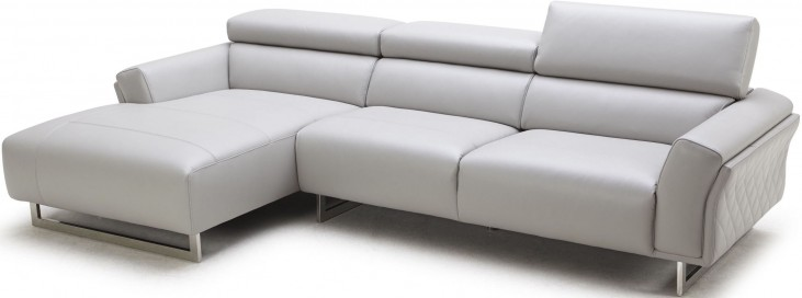 1972 Italian Grey LAF Leather Sectional