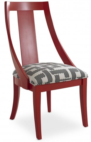 Open Seating Red Rosie Slipper Chair