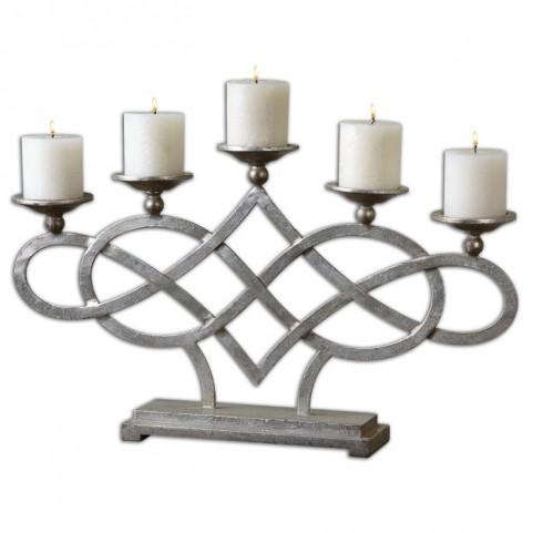 Adala Silver Candleholder