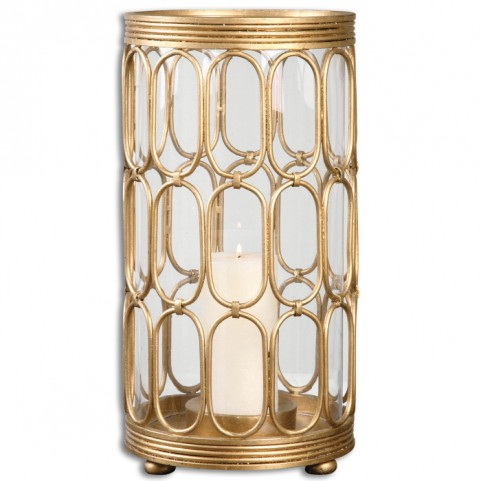 Sosi Gold Candle Holder
