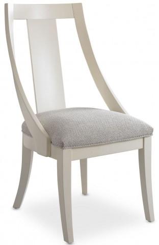 Open Seating White Heidi Slipper Chair