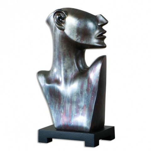 My Good Side Bronze Sculpture