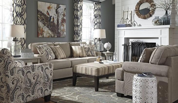 Melaya Pebble Living Room Set