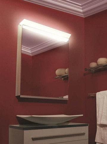 "Priolo 19"" Right Hinge Mirror Cabinet"