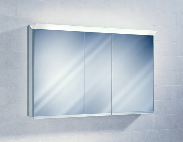 """Sidler Priolo 51"""" Left Hinge Mirror Cabinet"""