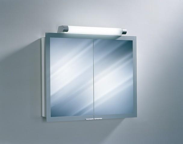 """Axara 35"""" FL White Mirror Cabinet"""