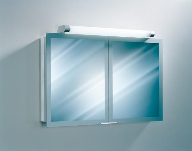 "Axara 47"" White Mirror Cabinet"