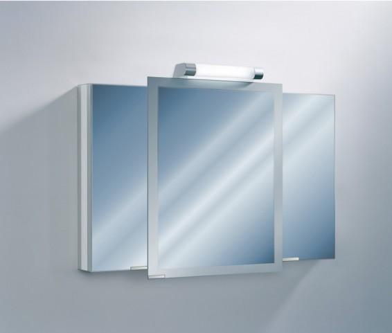 "Axara 47"" Hinge Right White Mirror Cabinet"