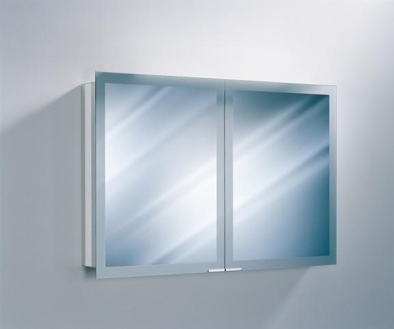 "Axara 47"" Non Electric Anodized Mirror Cabinet"