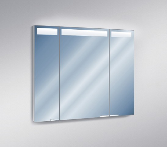 "Diamando 47"" Hinge Left 2 Light Mirror Cabinet"