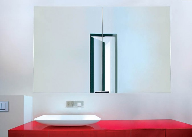 "Diamando None Electric 35"" Mirror Cabinet"