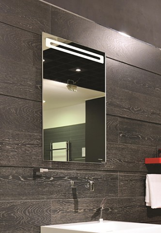 "Led 15"" Hinge Left Mirror Cabinet"