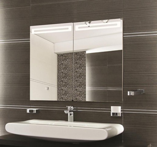 "Led 31"" Mirror Cabinet"