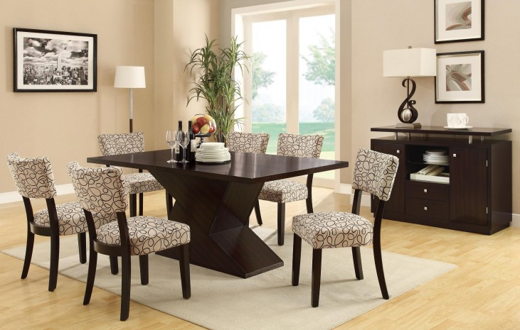 Libby Cappuccino Dining Room Set
