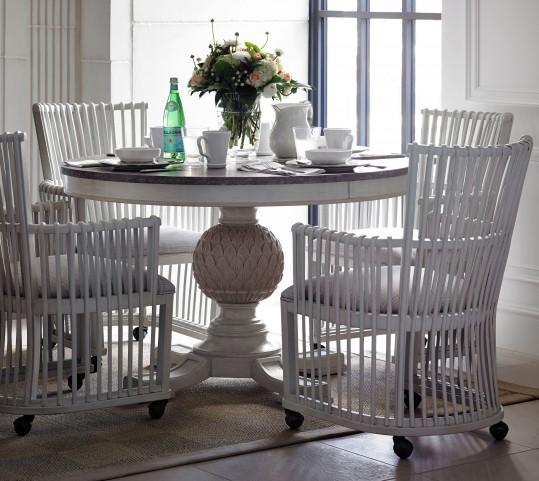 Preserve Artichoke Pedestal Dining Room Set