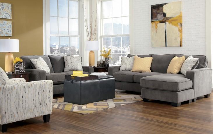 Hodan Marble Living Room Set